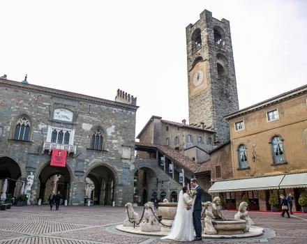 Plan your wedding in Bergamo at the best western Hotel Cappello d''Oro 4 stars