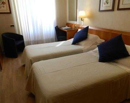 Check out the classic rooms twin at BW Hotel Cappello d''Oro Bergamo