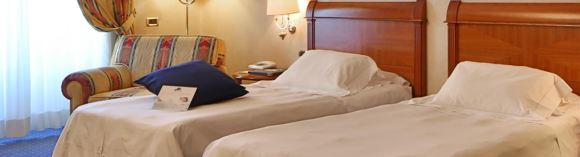 Choose our hotel 4 stars for your family holidays in Bergamo city