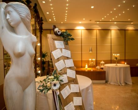 Your dream wedding in Bergamo at the Best Western Hotel Cappello d''Oro