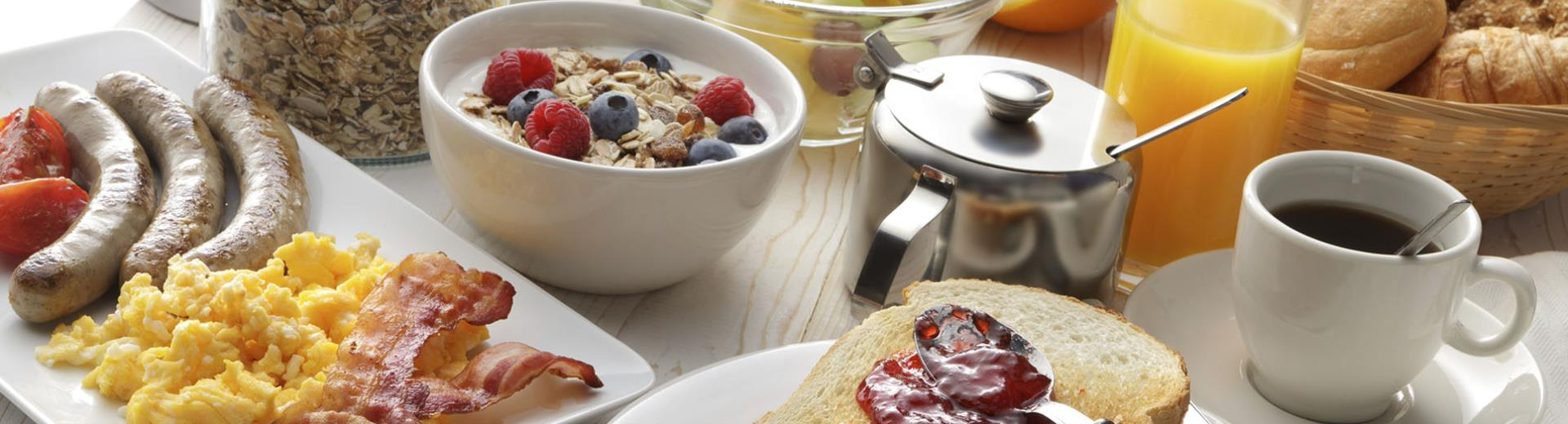 Discover the products of our 4 stars breakfast
