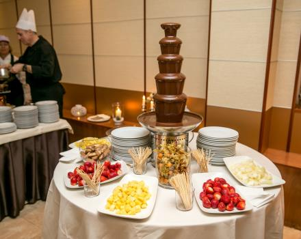Dessert buffet for your fairytale wedding at the Best Western Hotel Cappello d''Oro Bergamo